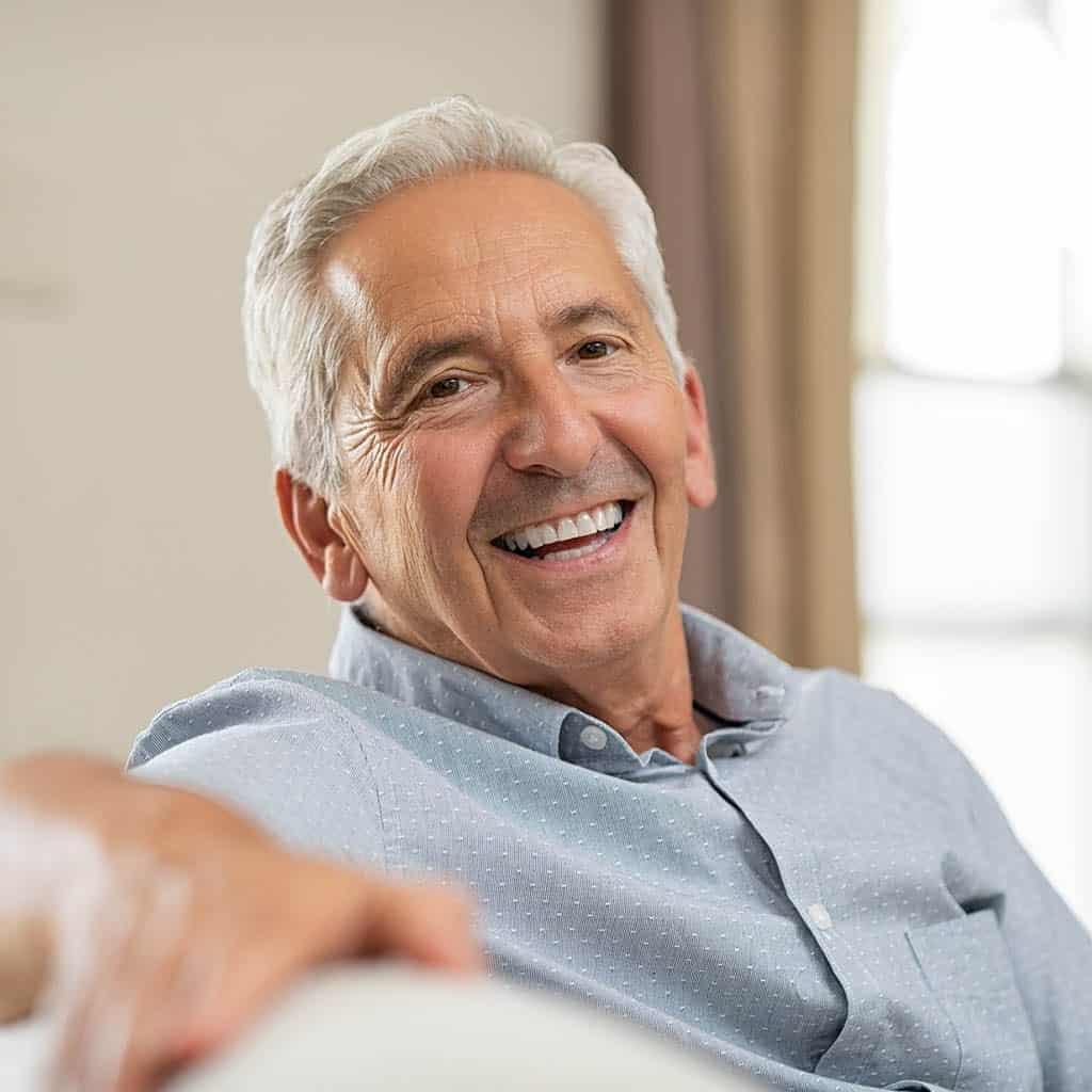 senior man addiction treatment services